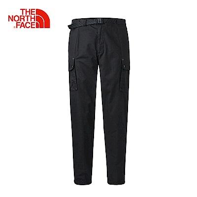 The North Face北面男款黑色環保快乾戶外休閒長褲