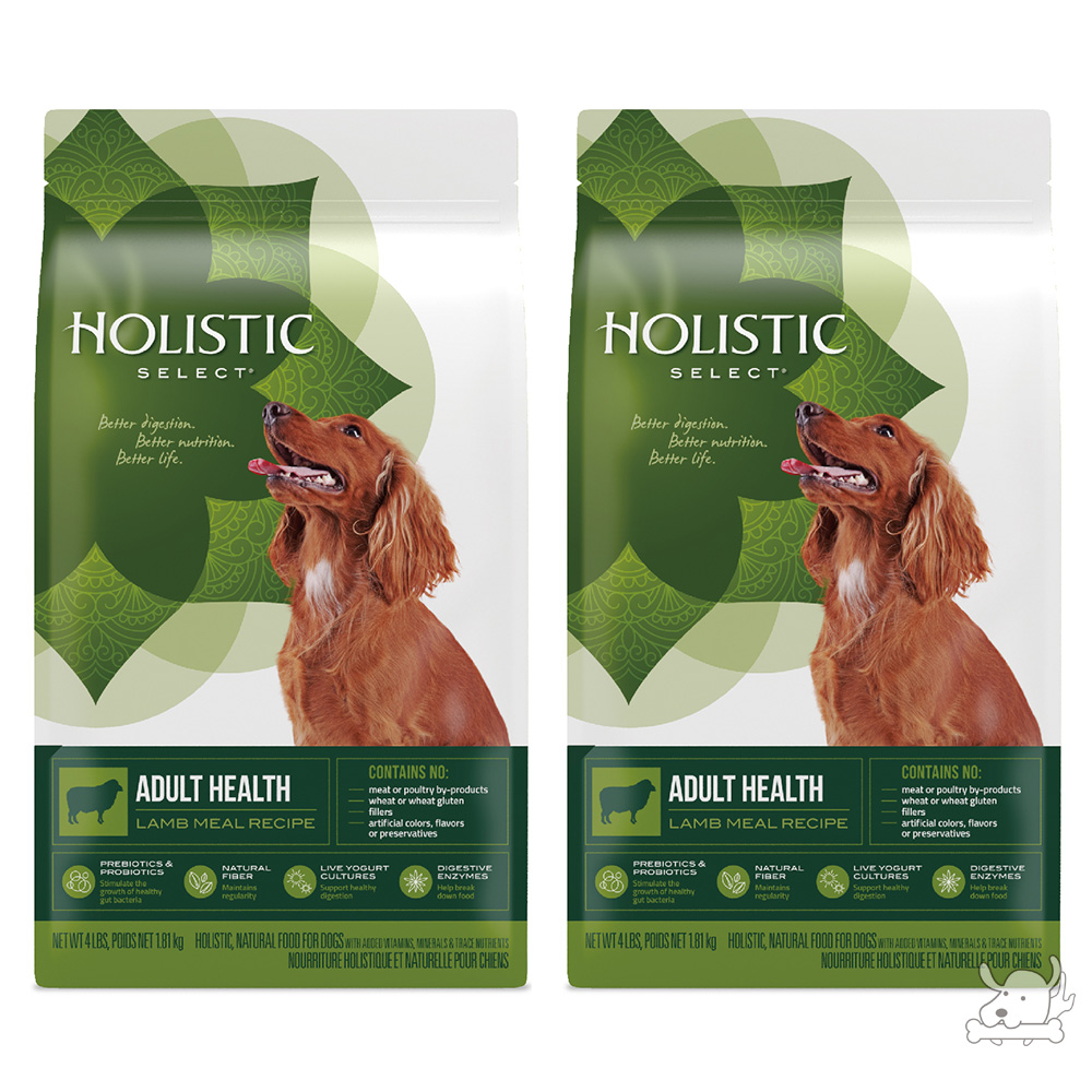 Holistic Select 活力滋 成犬 羊肉低敏除臭配方 15磅 X 2包