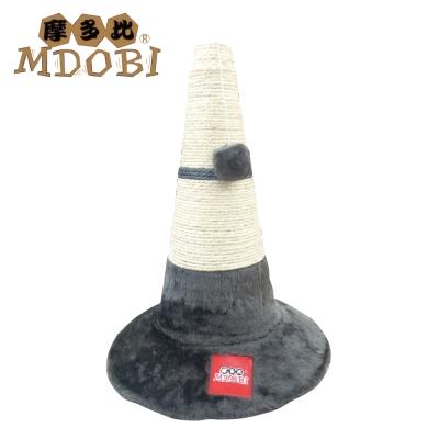 MDOBI摩多比-貓丸家 麻繩貓抓柱 三角路錐造型-兩色可選