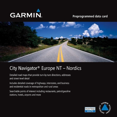 GARMIN 北歐地圖卡-快