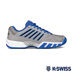 K-SWISS Bigshot Light 3輕量專業網球鞋-男-灰/藍/黑