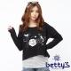 betty's貝蒂思 刺繡圖案條紋背心兩件式