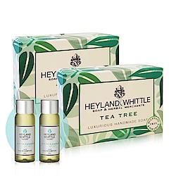 H&W英倫薇朵 茶樹手工香氛皂2入組送洗髮露