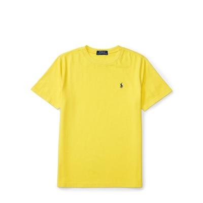 Ralph Lauren 短袖 小孩T 素面 黃色 297