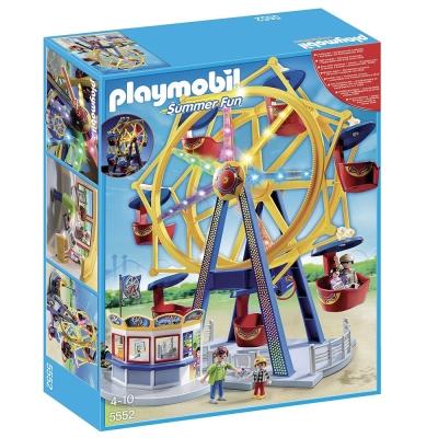 playmobil 歡樂遊樂園系列 摩天輪樂園豪華組
