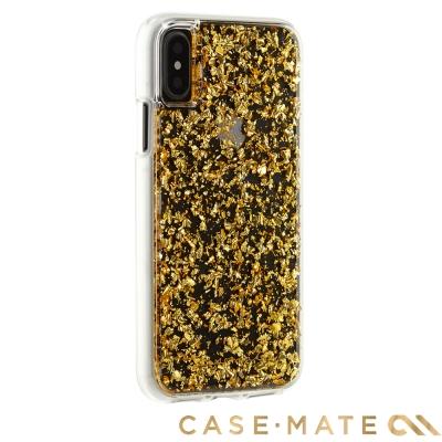 美國 Case-Mate iPhone X Karat 防摔手機保護殼 - 金箔