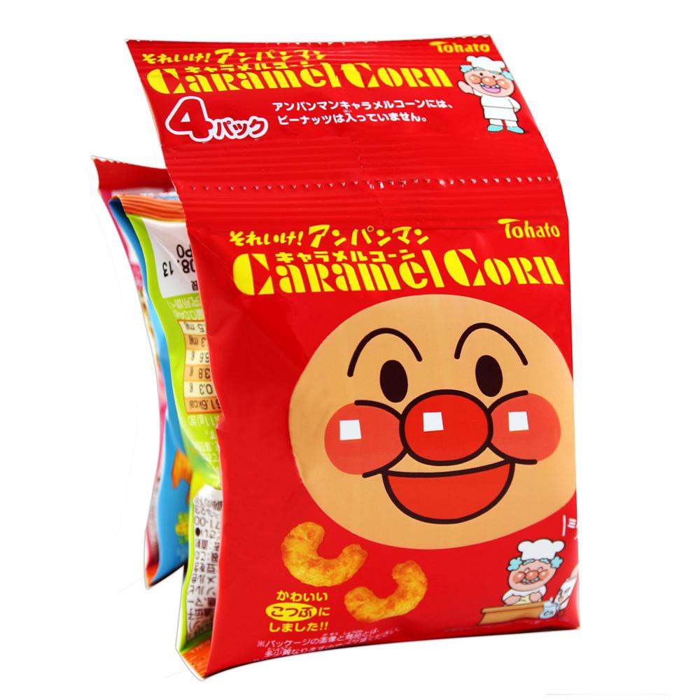 麵包超人4連焦糖玉米脆餅(44gx2入)