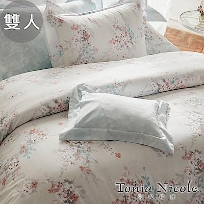 Tonia Nicole東妮寢飾 我的甜蜜花園環保印染精梳棉兩用被床包組(雙人)