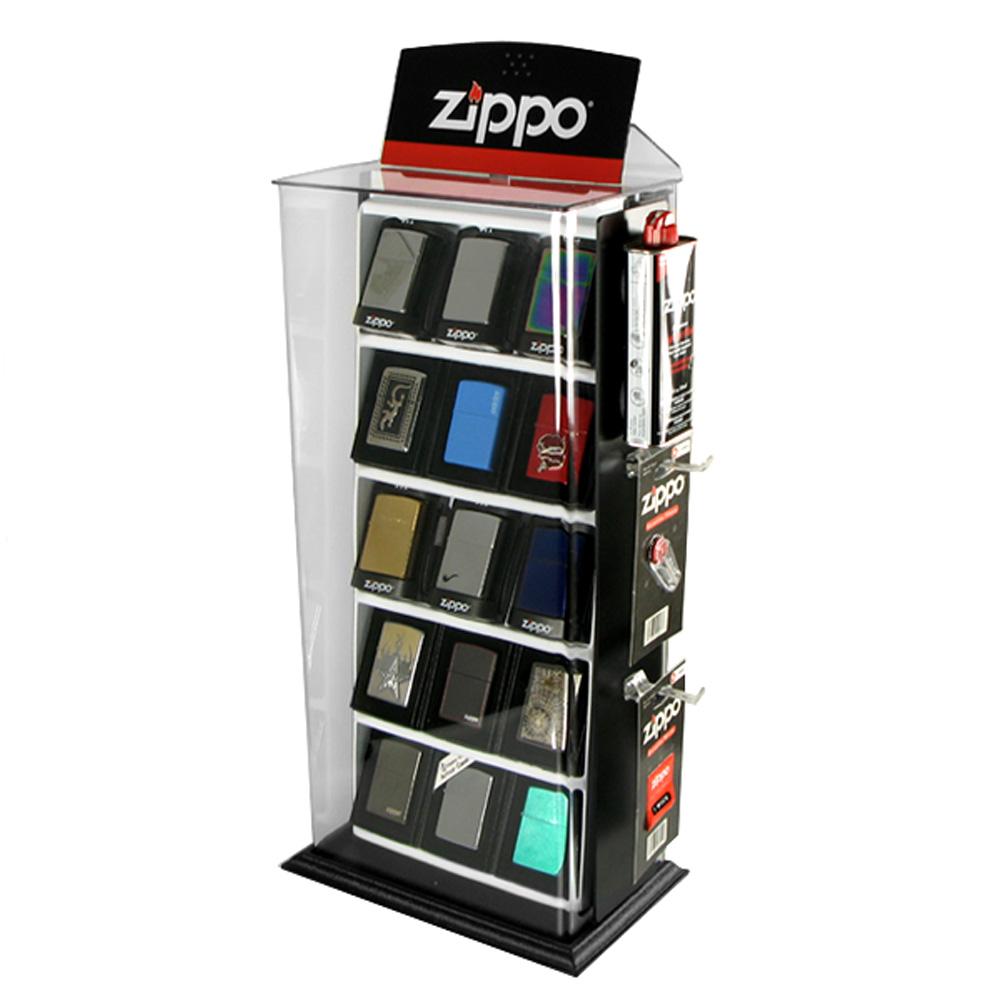 【ZIPPO】15入~打火機收藏展示櫃