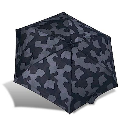 RAINSTORY迷彩拼圖抗UV輕細口紅傘