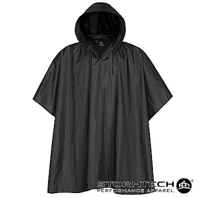 【加拿大STORMTECH】PCX-1 輕薄防水雨衣-男-黑