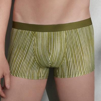 DAYNEER 印花 貼身四角內褲(橄欖綠)