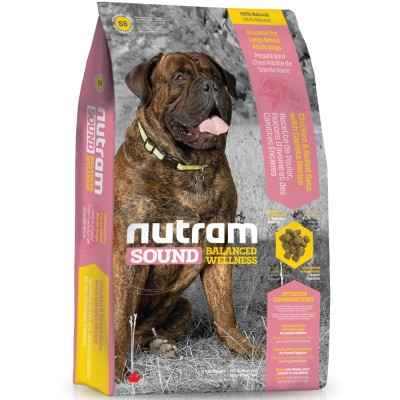 Nutram紐頓 S8大型成犬/雞肉蘋果配方 13.6kg【2136】