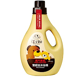 汪汪寶貝雙貂油抗菌沐浴精2000ml