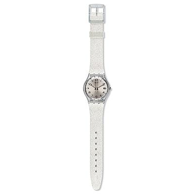 Swatch 原創系列 SILVERBLUSH 銀色星空手錶