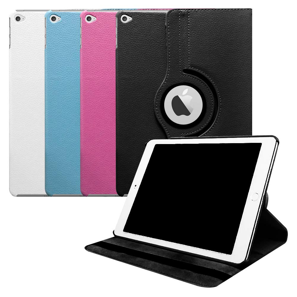 iPad Air 2可旋轉多功能皮套可喚醒休眠