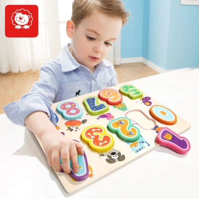 TOPBRIGHT幼兒學習動物數字拼圖 (24m+)
