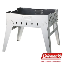 Coleman 9434 焚火台 可當烤肉架/暖爐 搭配荷蘭鍋使用 附收納袋(公司貨)