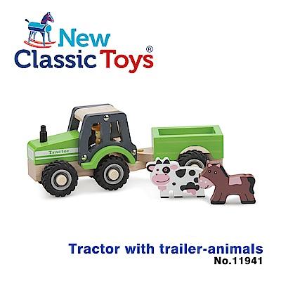 荷蘭New Classic Toys 動物農場拖拉車 - 11941