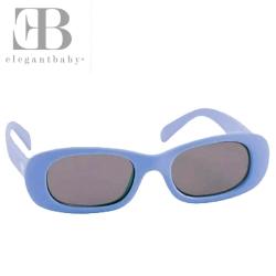 Elegant Baby 藍紫款抗UV細長鏡框太陽眼鏡