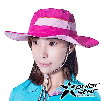 PolarStar 圓盤牛仔帽 遮陽帽『玫瑰紅』P16516