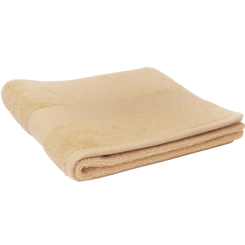 EXCELSA Spa抗敏純棉毛巾(棕60cm)