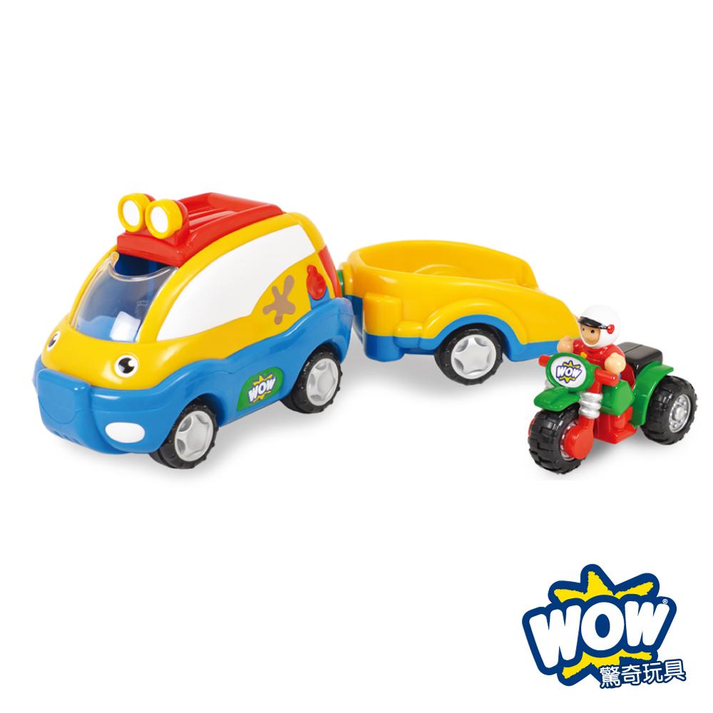 英國【WOW Toys 驚奇玩具】越野休旅車 歐利