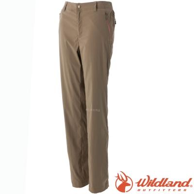 Wildland 荒野 0A51301-63深卡其 女 彈性輕薄抗UV長褲