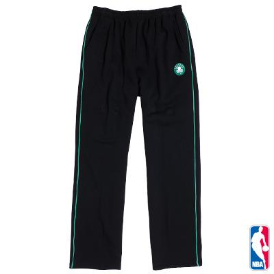 NBA-波士頓塞爾提克隊繡花厚棉長褲-黑(男)