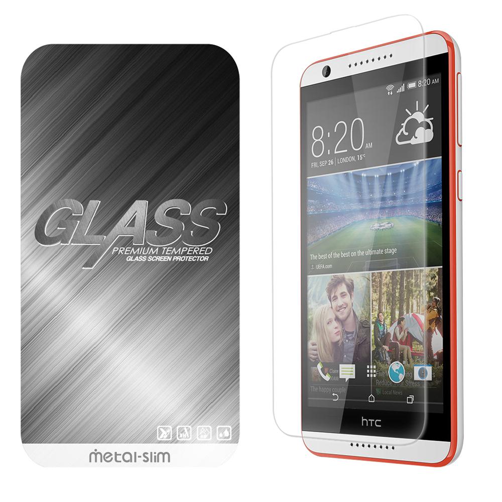 Metal-Slim HTC Desire 820 9H弧邊耐磨防指紋鋼化玻璃保護貼