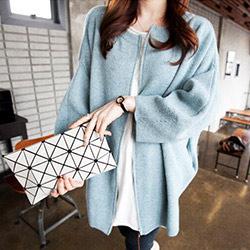 韓國 蝙蝠袖針織外套