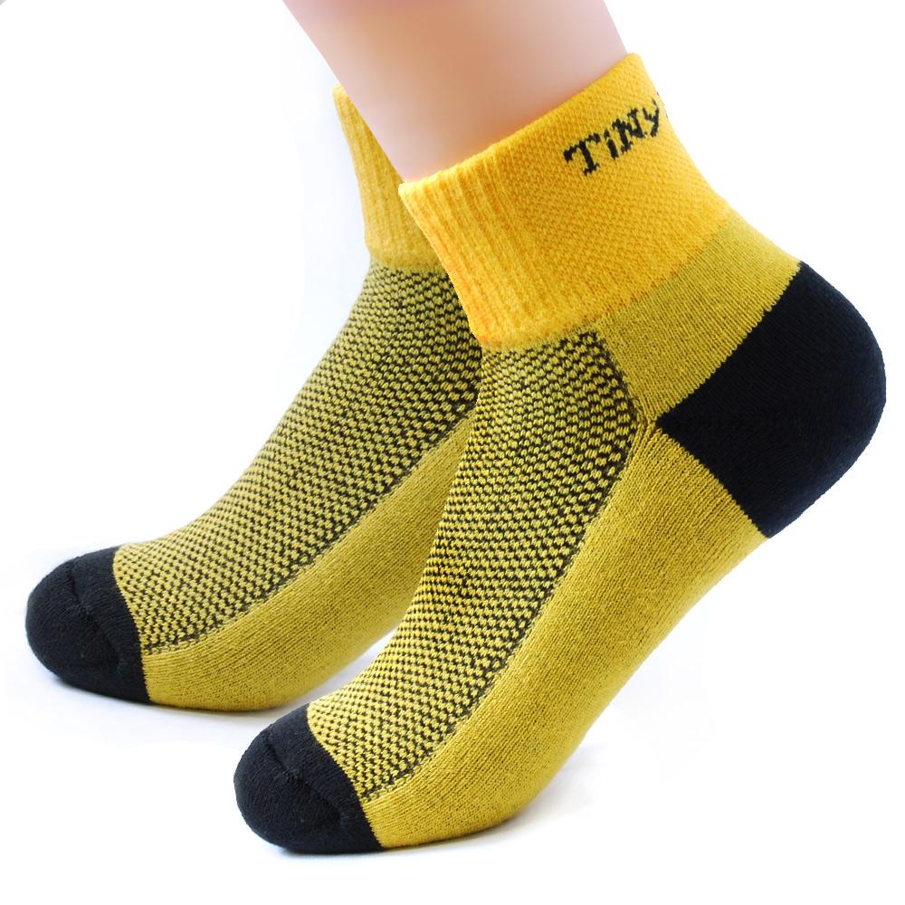 TiNyHouSe舒適襪系列 厚底路跑短襪(T-11尺碼L/M) 超值2雙組
