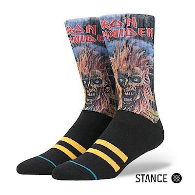STANCE IRON MAIDEN-男襪-休閒襪-金屬樂團傳奇-鐵娘子紀念款
