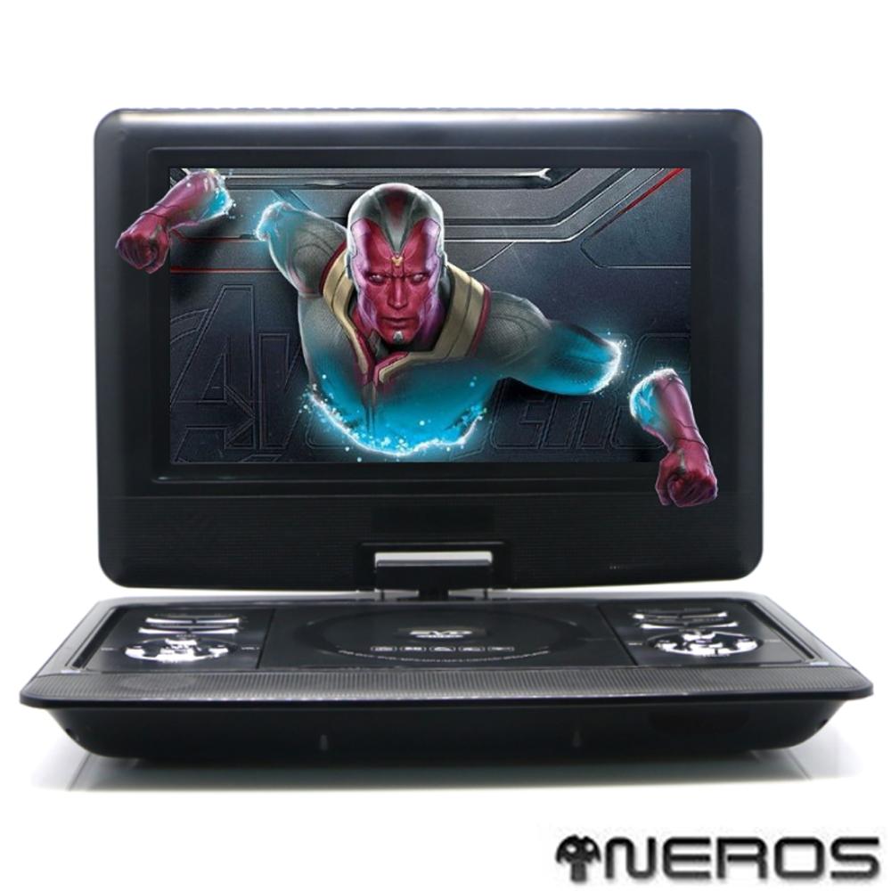 NEROS【幻視奇俠】10吋 移動式RMVB-DVD(2小時版)