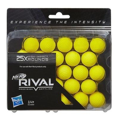 孩之寶Hasbro NERF系列 兒童射擊玩具 決戰系列 RIVAL 25發球彈補充包