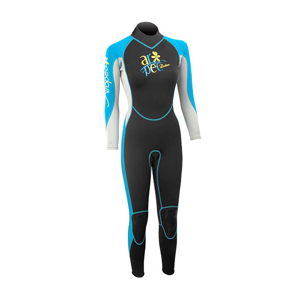 AROPEC Vitality 活力女款長袖潛水防寒衣 土耳其藍