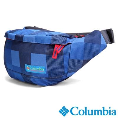 【Columbia哥倫比亞】2L旅遊簡便腰包-藍色 UUU12370BL