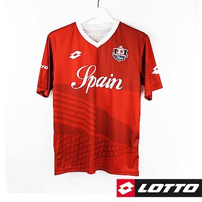 LOTTO 義大利 世足盃國家隊紀念T恤(西班牙)-紅