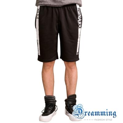 Dreamming 韓系潮流NARX膠印棉質短褲