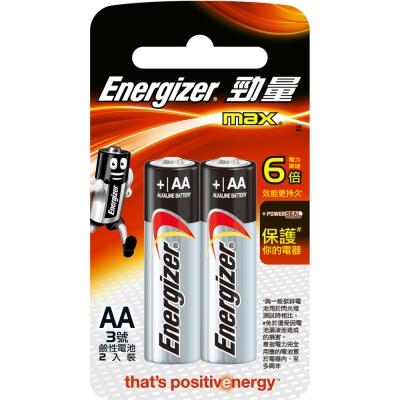 勁量 鹼性電池-3號(AA) 2入