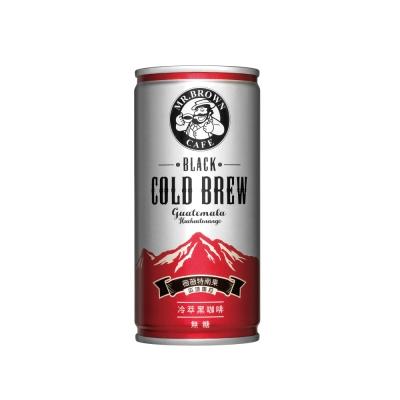 伯朗 冷萃無糖黑咖啡-瓜地馬拉薇薇特南果(200mlx24入)