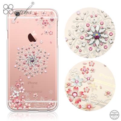 apbs iPhone 6s / 6 4.7吋 施華洛世奇彩鑽手機殼-櫻飛雪