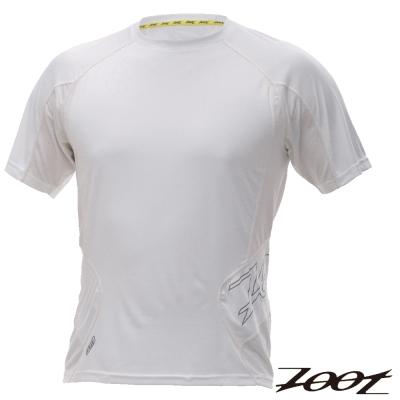 ZOOT SPORT-頂級極致型冰涼感短袖跑衣(男-白)