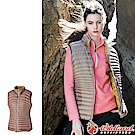 Wildland 荒野 0A52171-82卡其 女700FP輕量時尚羽絨背心