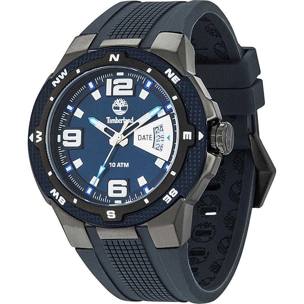 Timberland champlain 時尚日期型男腕錶-藍/45.5mm