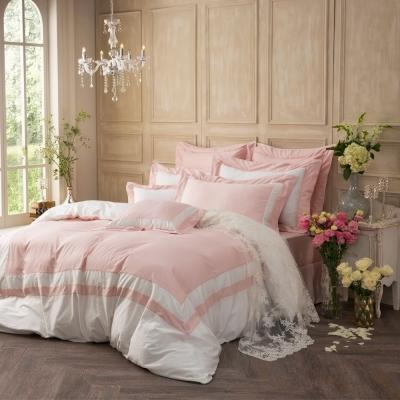 IN HOUSE-SLEEPING BEAUTY -膠原蛋白紗-薄被套床包組(粉色-雙人)