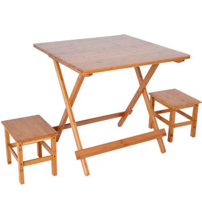 楠竹折疊桌1桌2椅ZZZ-92(L號)