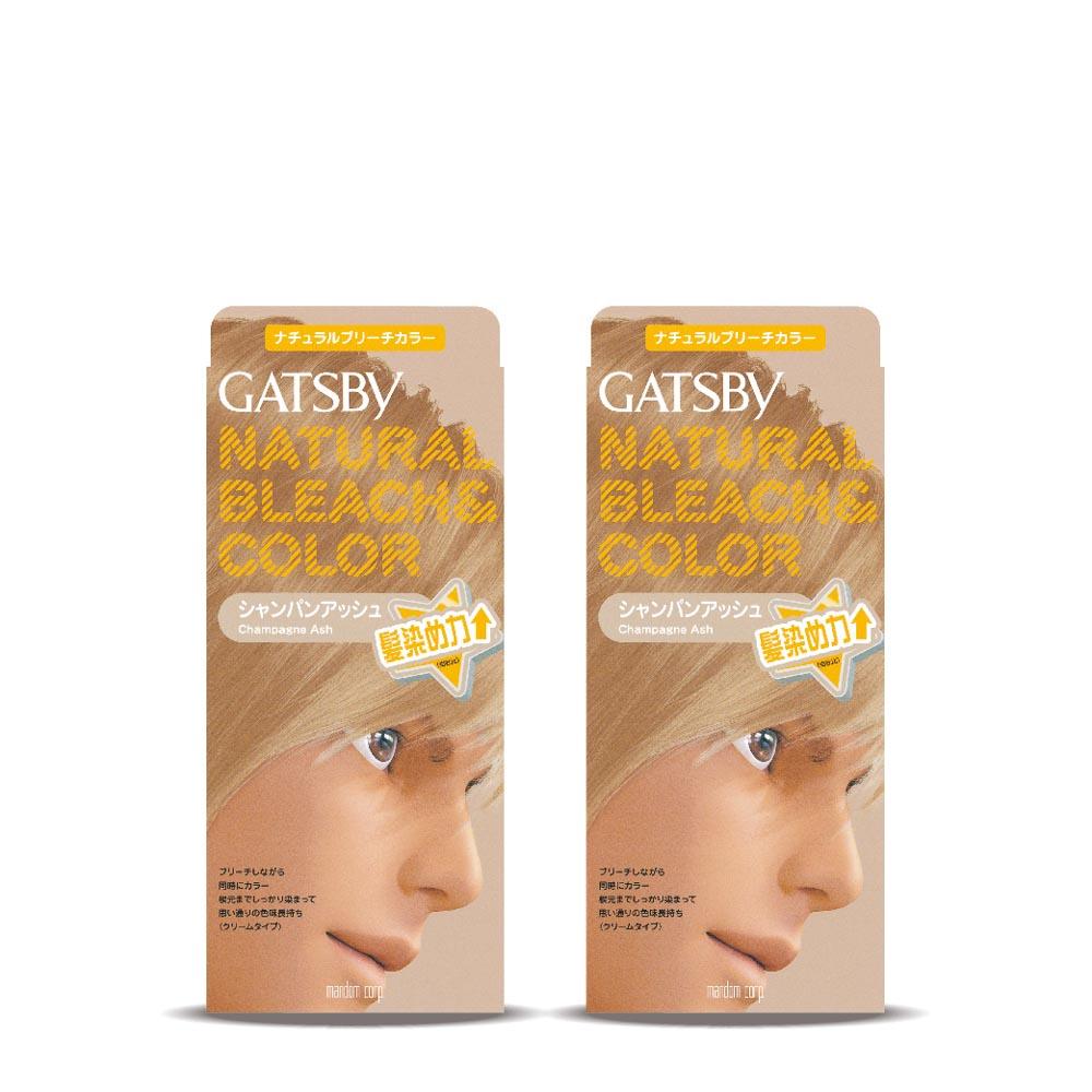 GATSBY無敵顯色染髮霜香檳淺金179gx2