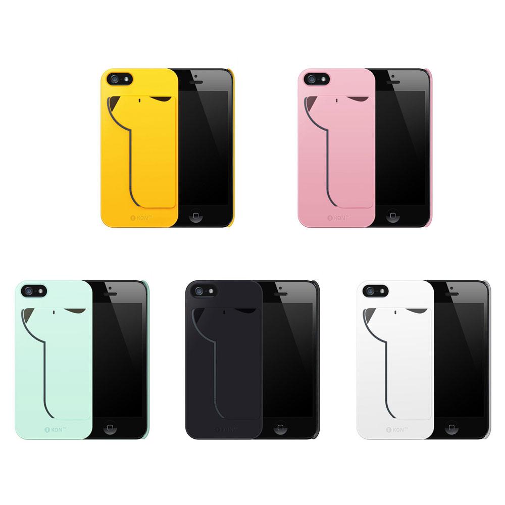 韓iPUP iPhone5/5S 悠遊卡保護殼(附home貼)