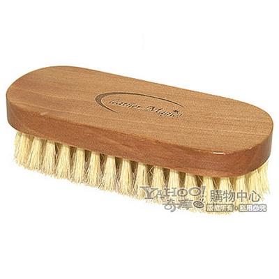 皮革魔法師-木柄環保豬鬃實用刷-皮革清潔保養